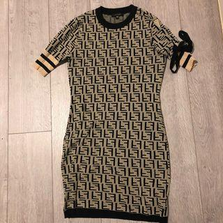 Fendi Replica knit dress