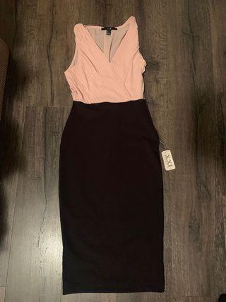 Pink/Black dress BNWT