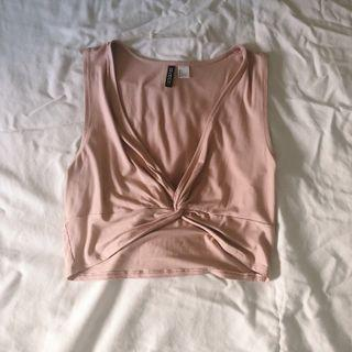 H&M Nude Top