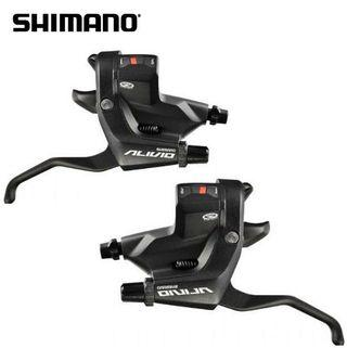 Shimano ALIVIO 3x9s RAPIDFIRE Plus Shift/Brake Lever- Black