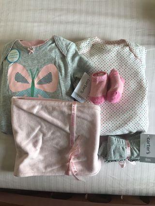 Carter's New born Babyset (5 pieces - 5 件)