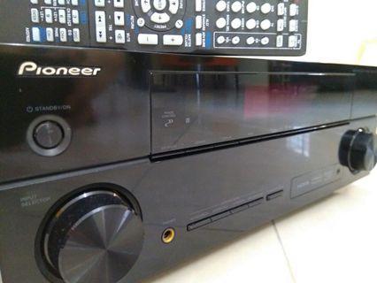 PIONEER:VSX-520K Full HD 3D A/V Receiver