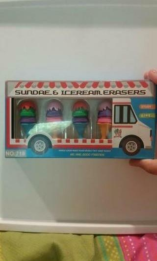 Ice cream rubbers