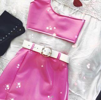 ZAliE pink festival set