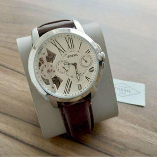 {{ WEEKEND SALES }} Fossil Grant Brown Leather Watch