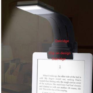 Kindle ebook or book reader light illumination