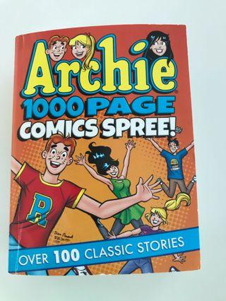 Archie's comics 1000pages collectible