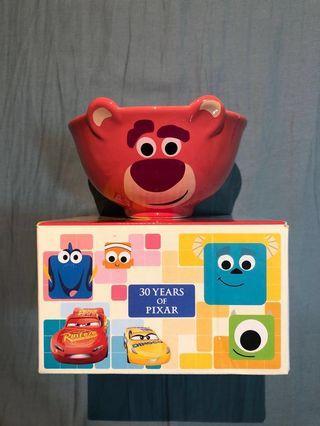 全新 7-11 Disney 30 years of Pixar Toy Story Lotso 迪士尼 反斗奇兵 陶瓷碗 勞蘇碗