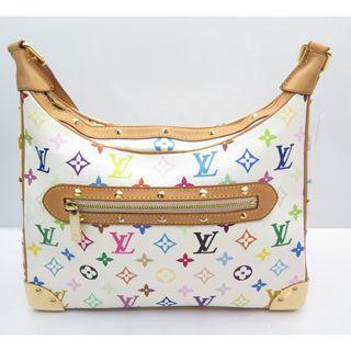 6572e4d48afc Louis Vuitton Multicolor Boulogne Blanc Shoulder Bag M92660