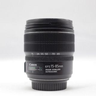 Used - Canon EF-S 15-85mm f/3.5-5.6 IS USM Lens