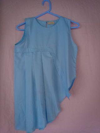 Atasan wanita (blue baby)