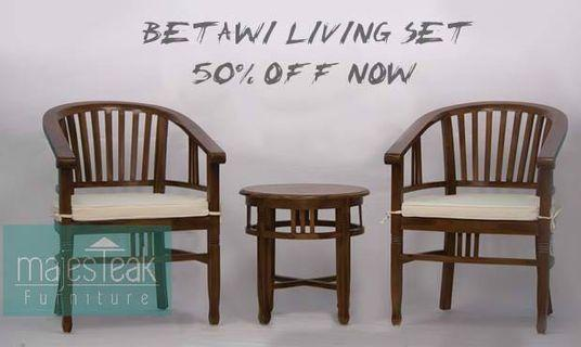Teak Betawi Set - majesTEAK Furniture