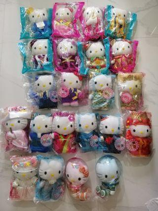 🚚 Clearance FIRE sale: Hello Kitty plush toy Collection