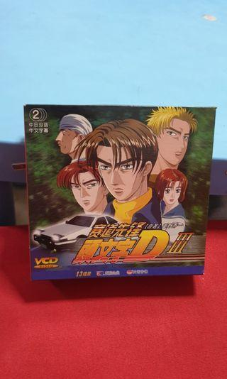 Initial D Japanese vcds
