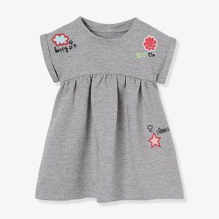 Girl cotton embroidery dress
