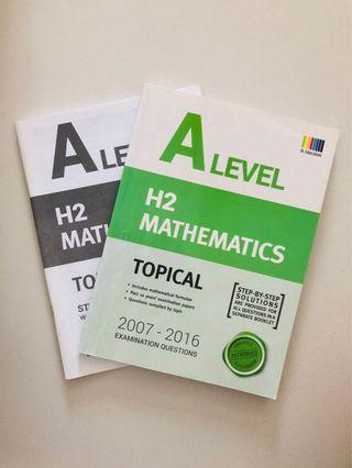 🚚 A lvl H2 Math past year papers !