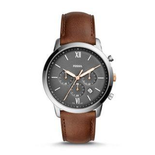 {{ WEEKEND SALES }} Fossil Neutra Chronograph Light Brown Leather Watch