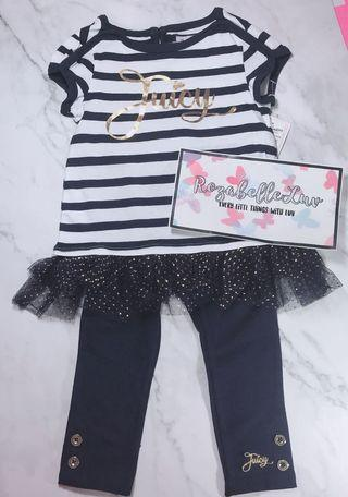 Juicy couture navy sets