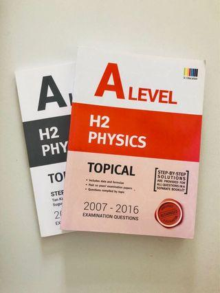 🚚 H2 Physics A level Topical papers