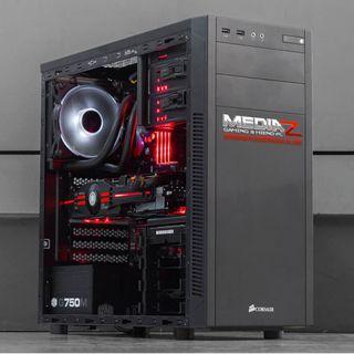 全新復活節限量發售!Ryzen 2600 / GTX 1060 6gb / 16 gb Ram 2666 mhz 打機電腦 Brand New RGB Gaming Rig