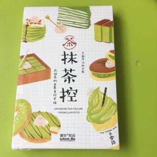30張抹茶食品名信片