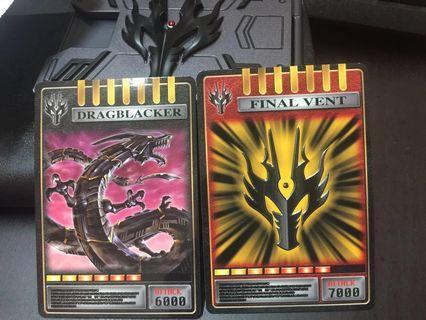 Kamen Rider Ryuga CSM (Card Deck )+ Gift from Kamen Rider Zio ( If get high bidding )