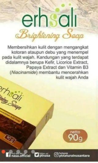 ERHSALI BRIGHTENING SOAP