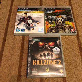 PS3 GAMES AT $10 EA