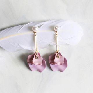 Lilac Flower Earrings #APR75