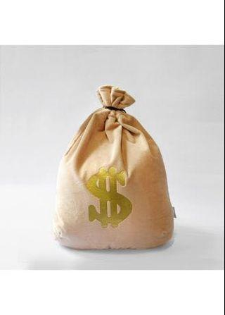 Money Bean Bag #ENDGAMEyourEXCESS