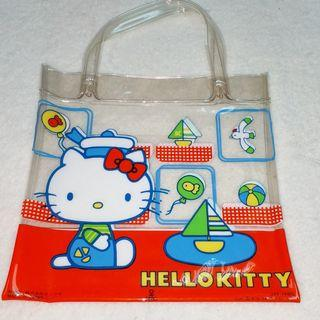 sanrio hello kitty 1976 透明袋
