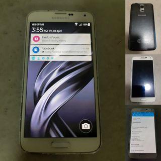 Samsung Galaxy S5 Hairline Crack 16gb Unlocked