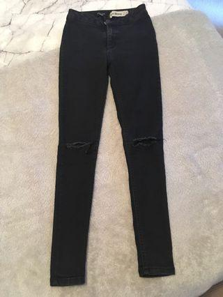 New Look Petite Skinny Ripped Jeans Size uk 6