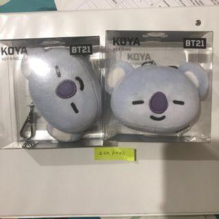 BTS BT21 KOYA KEY RING