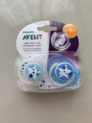 AVENT Pacifiers buy 2 get 1 for FREE (6-18mo)