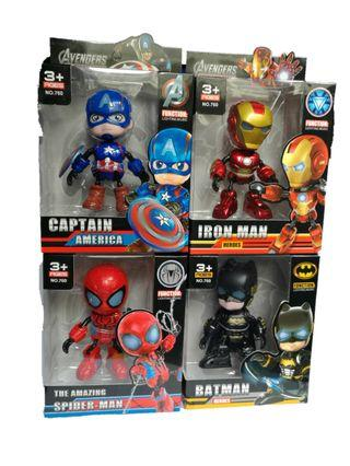 Avengers Cute Version Figure Toy with Lights and Sound
