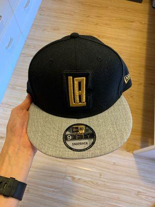Los Angeles Clippers NBA gold tip off snapback