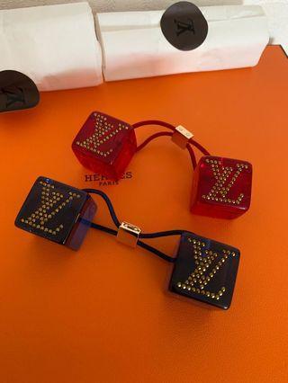 Louis Vuitton hair cube