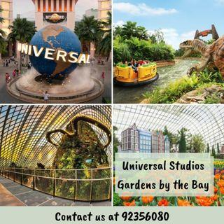 [COMBO] Universal Studios + Gardens by the Bay