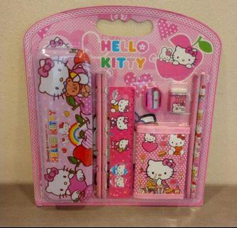 Ststionery Set 9-in-1 Hello Kitty Design