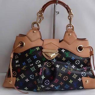 13c2ef91a896 Authentic Louis Vuitton Ursula Black Multicolor💛♤ ♤ 🎀💝