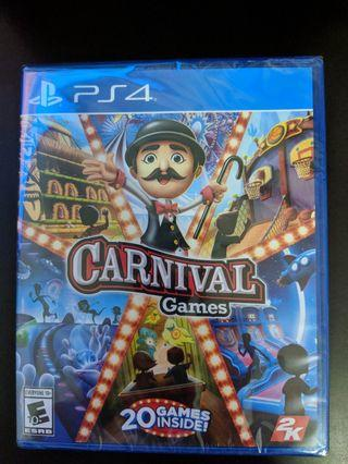 PS4 Carnival Games (New)