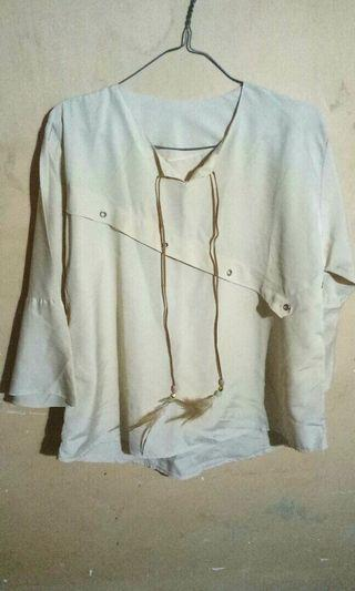 [Reprice] Blouse gold