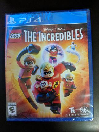 PS4 LEGO The Incredibles (New)