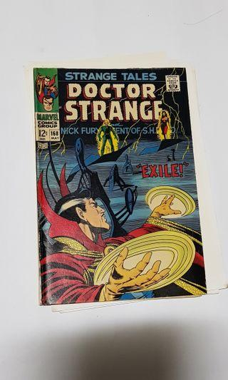 STRANGE TALES 168 Dr Strange Nick Fury Final issue #EndgameYourExcess