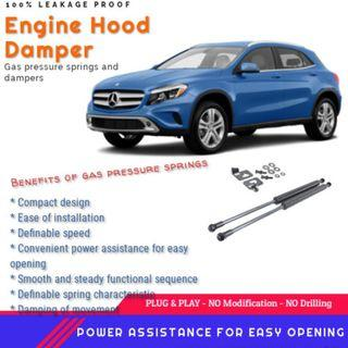 MERCEDES BENZ GLA/CLA/A CLASS ENGINE HOOD DAMPER / BONNET GAS LIFTER