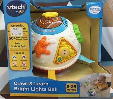 Vtech baby Crawl & Learn Bright Lights Animal Ball