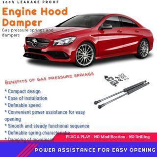 MERCEDES BENZ CLA/GLA/A CLASS ENGINE HOOD DAMPER / BONNET GAS LIFTER