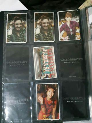 Girls Generation SNSD Oh white border official photocard