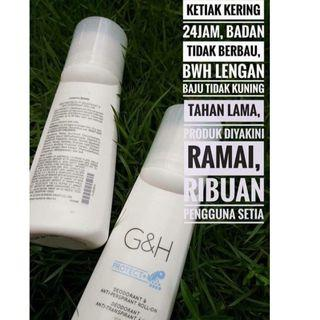 G & H Deodorant anti peluh(100ml)